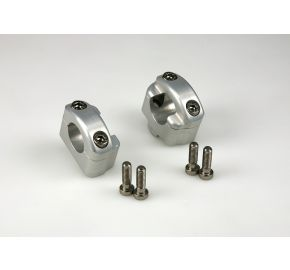 "Clamps from 7/8"" bar to 1 1/8"" X-Bar (Fat Bar)"