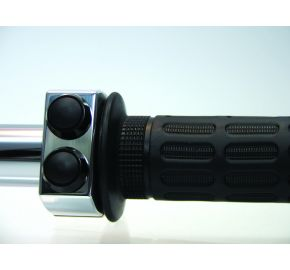m.Switch 3 Push Button Housing 1""