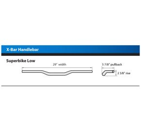 X-Bar Handlebar, Superbike Low