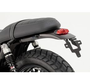 LSL Rear Fender with LED tail light and alu license plate holder
