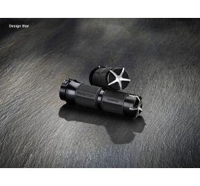 Handlebar Grips, Star Design